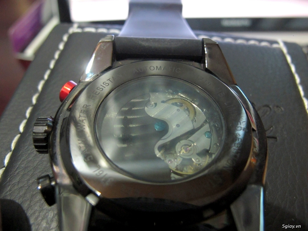 Bán nhanh 1 em đồng hồ cơ Ingersoll - 1982 - Fullbox 100% - 6