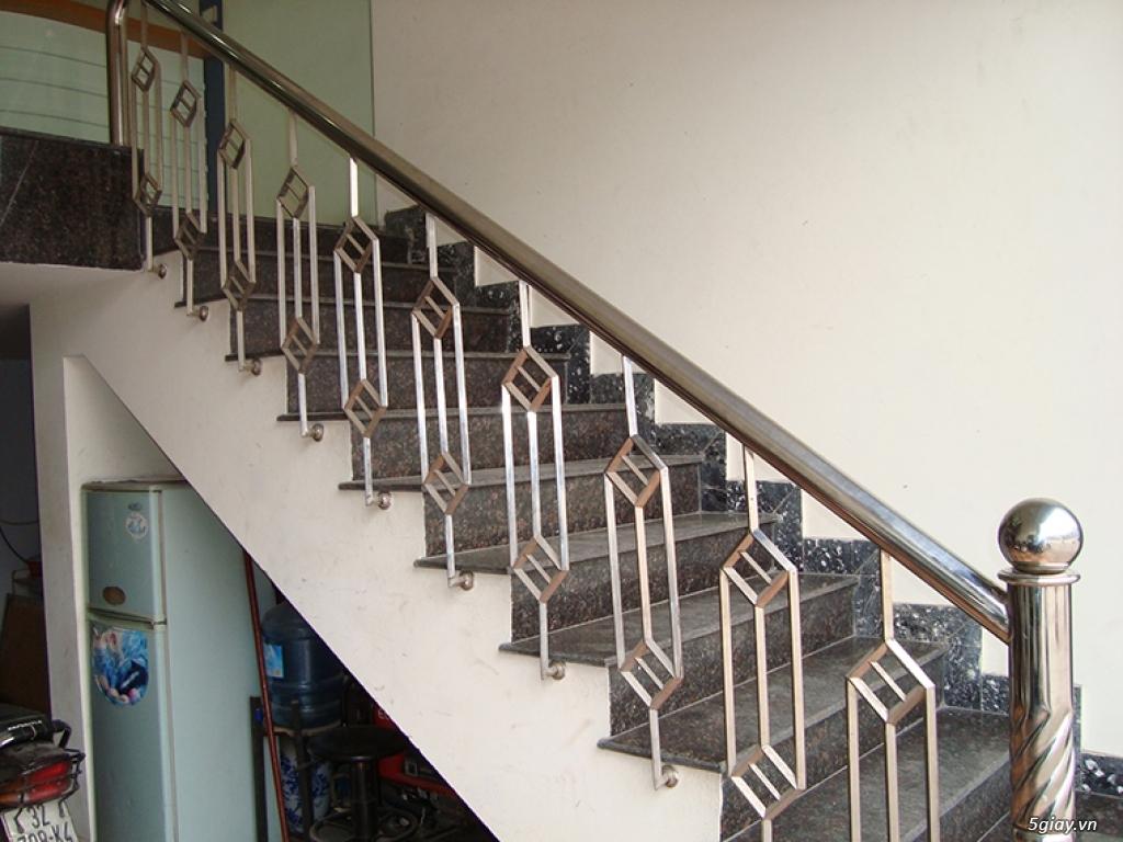 Chuyên sắt, inox, nhôm kiếng, thiết kế, thi công cầu thang, lan can... - 16