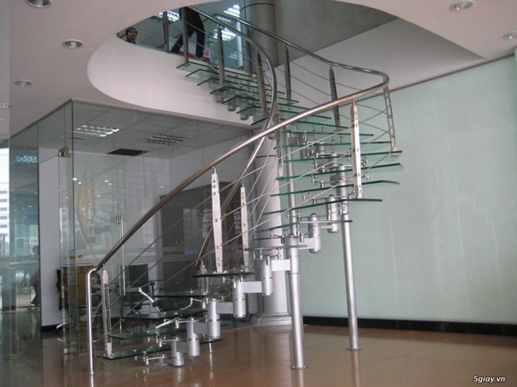 Chuyên sắt, inox, nhôm kiếng, thiết kế, thi công cầu thang, lan can... - 19