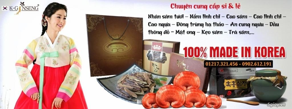 An Cung Ngưu Hoàng Hoàn [ Made in Korea ]
