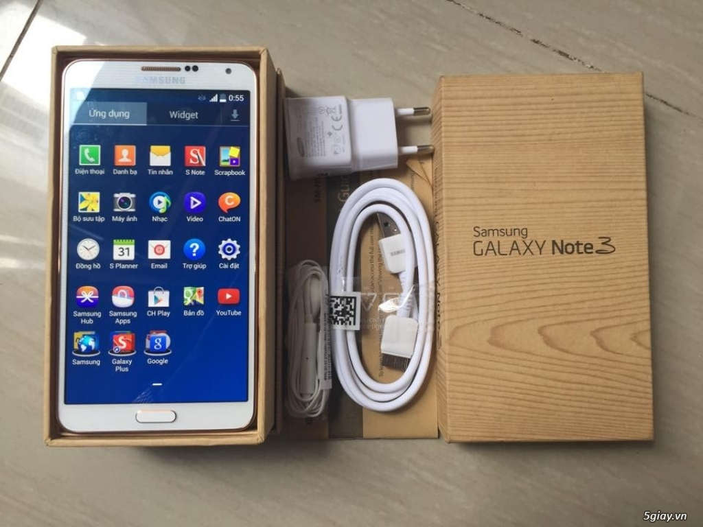 Samsung Galaxy Note 3 N900 Hàn Quốc Mới 100% Fullbox