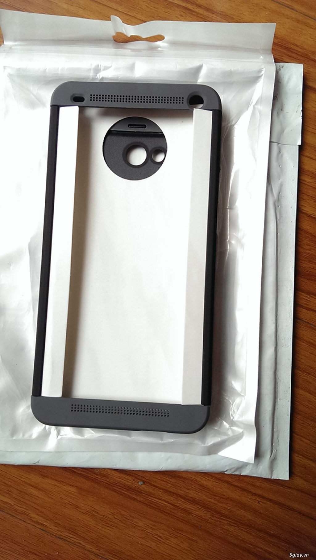 Bán case HTC ONE M7 double dip (3 mảnh) nhựa sơn mờ mới vừa bóc tem - 4
