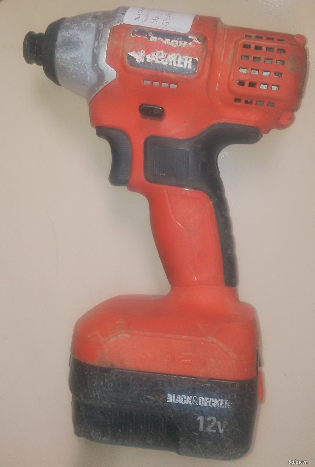 máy bắn vít pin-khoan pin - 7