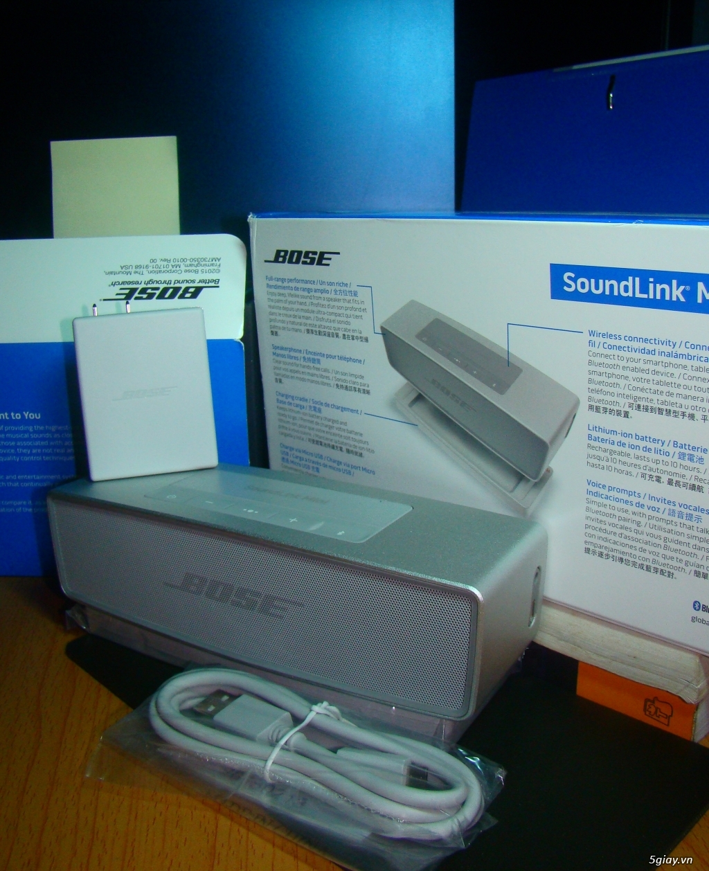 Bán loa Bluetooth Bose Soundlink Mini2 giá tốt - 1