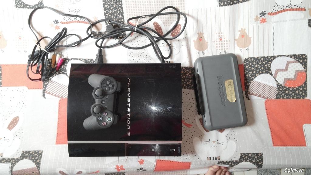Thanh lý PS3 Fat 80gb, hack full, chưa bị lỗi gì,Full box