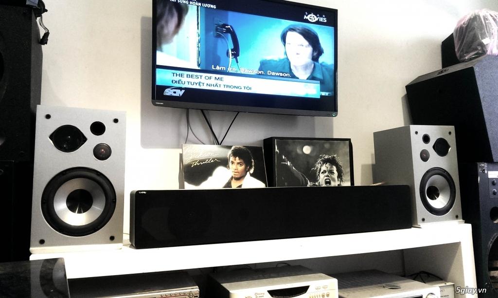 dàn loa karaoke, nghe nhạc Hi-End INFINITY của Mỹ, đậm chất Châu Âu: 5tr7 + Loa center Mỹ 3tr3 - 9