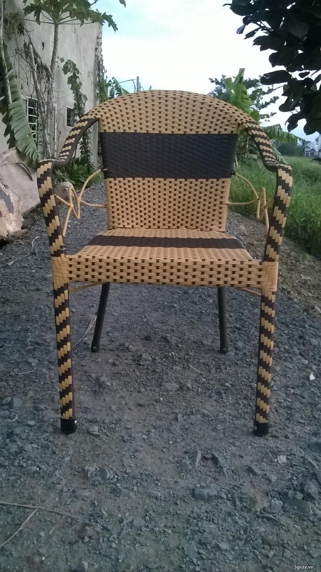 Bàn ghế Cafe giá rẻ - 3