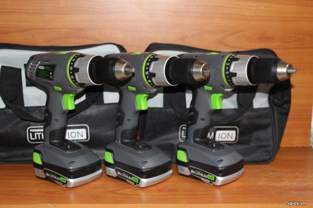 Chuyên Máy Khoan và Bắt Ốc Vít SD Pin từ 12=>18V Hiệu Ozito (Australia) luôn Có Pic! - 24