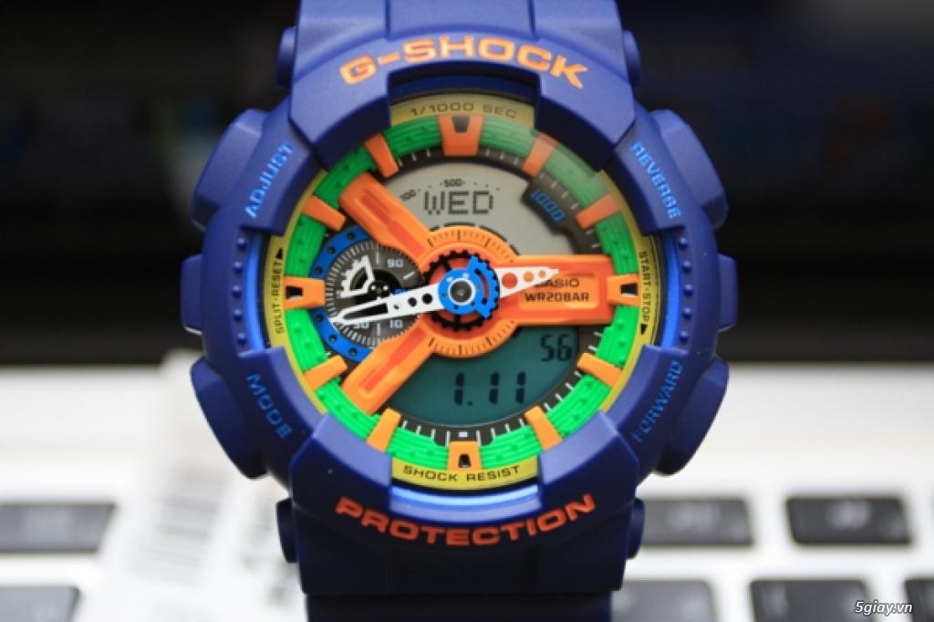 CASIO G-SHOCKCrazy Colors 98% hàng hiếm giá mềm - 3