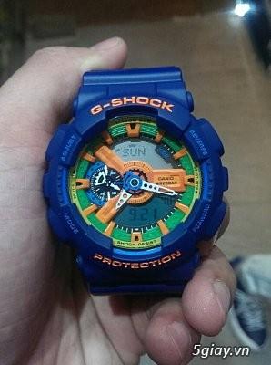 CASIO G-SHOCKCrazy Colors 98% hàng hiếm giá mềm