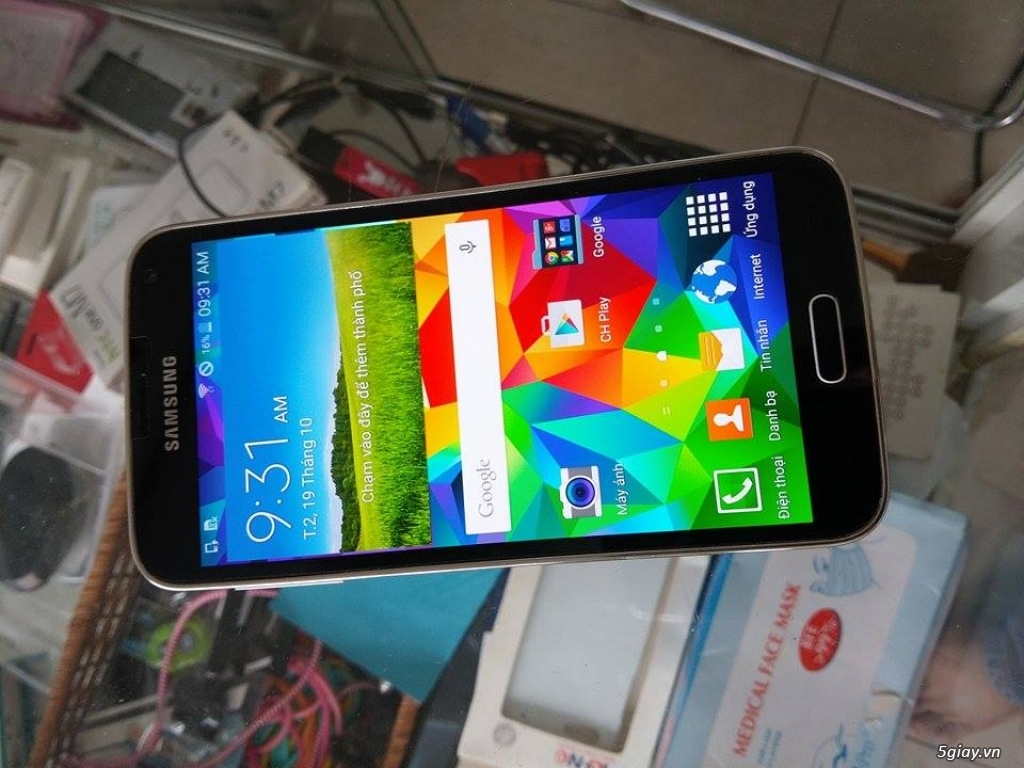 Vĩnh Thịnh Mobile - Samsung Galaxy S5 korea