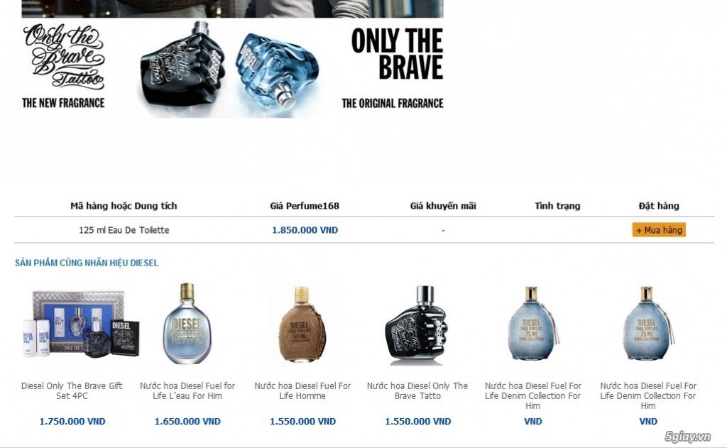 Thanh lý nước hoa Authentic giá rẻ - 1