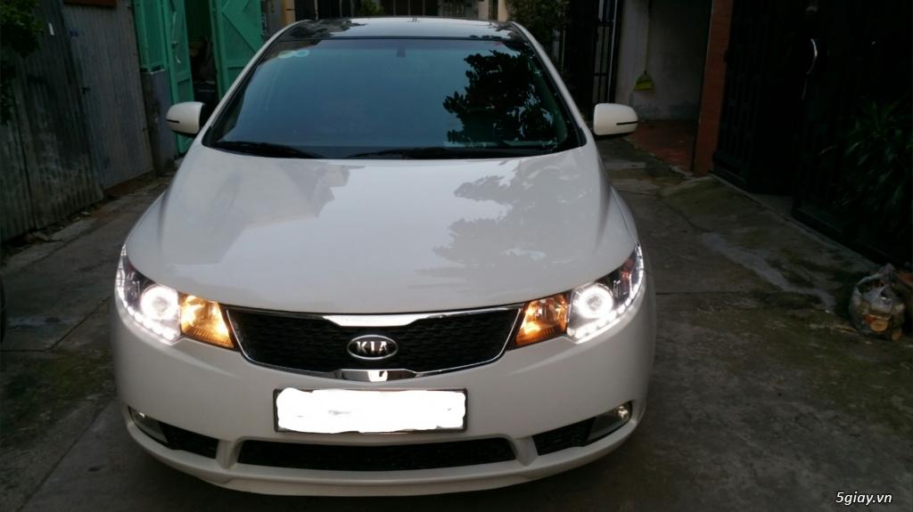 [HCM] Cần bán xe KIA Forte SX đăng ký 2012, 27k km, màu trắng. - 2