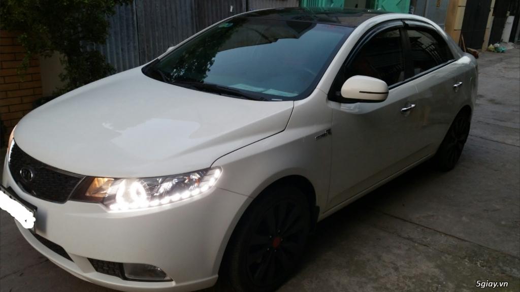 [HCM] Cần bán xe KIA Forte SX đăng ký 2012, 27k km, màu trắng. - 4