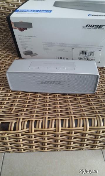 Được tặng Bose Soundlink Mini 2 không sài bán rẻ lại cho ai cần - 3