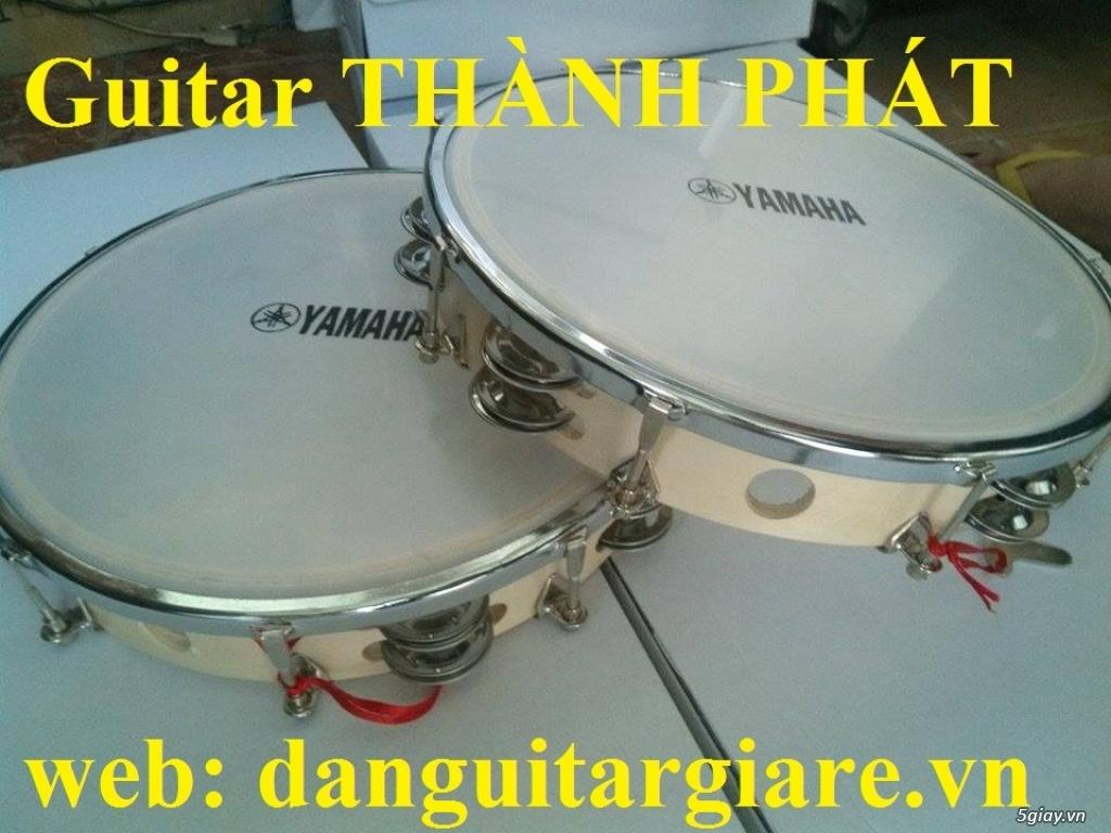Trống gõ bo chơi nhạc chế, trống lục lạc, trống lắc tay, trống gõ bo, tambourine - 10
