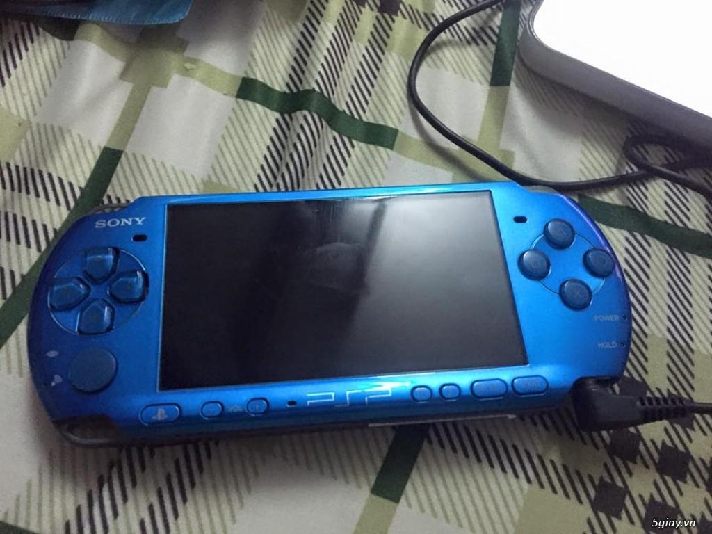 Psp 3000 màu xanh dương hàng độc giá rẻ