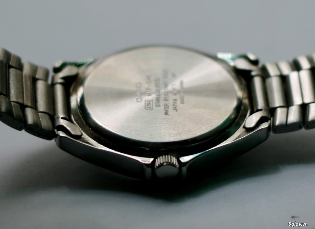 Đồng hồ CASIO Quartz MTP-1246 Hàng xách tay Nhật, đẹp leng keng ! - 1