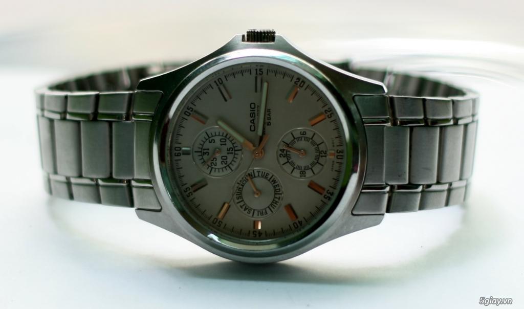 Đồng hồ CASIO Quartz MTP-1246 Hàng xách tay Nhật, đẹp leng keng !