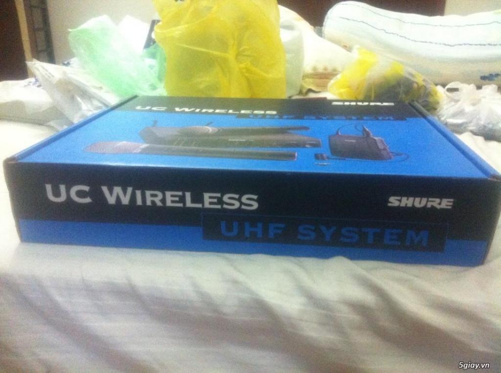 Bán Micro Shure không dây của Mỹ chính hãng ( Shure U4S UA, U4D UA, UC4 UA ) - 24