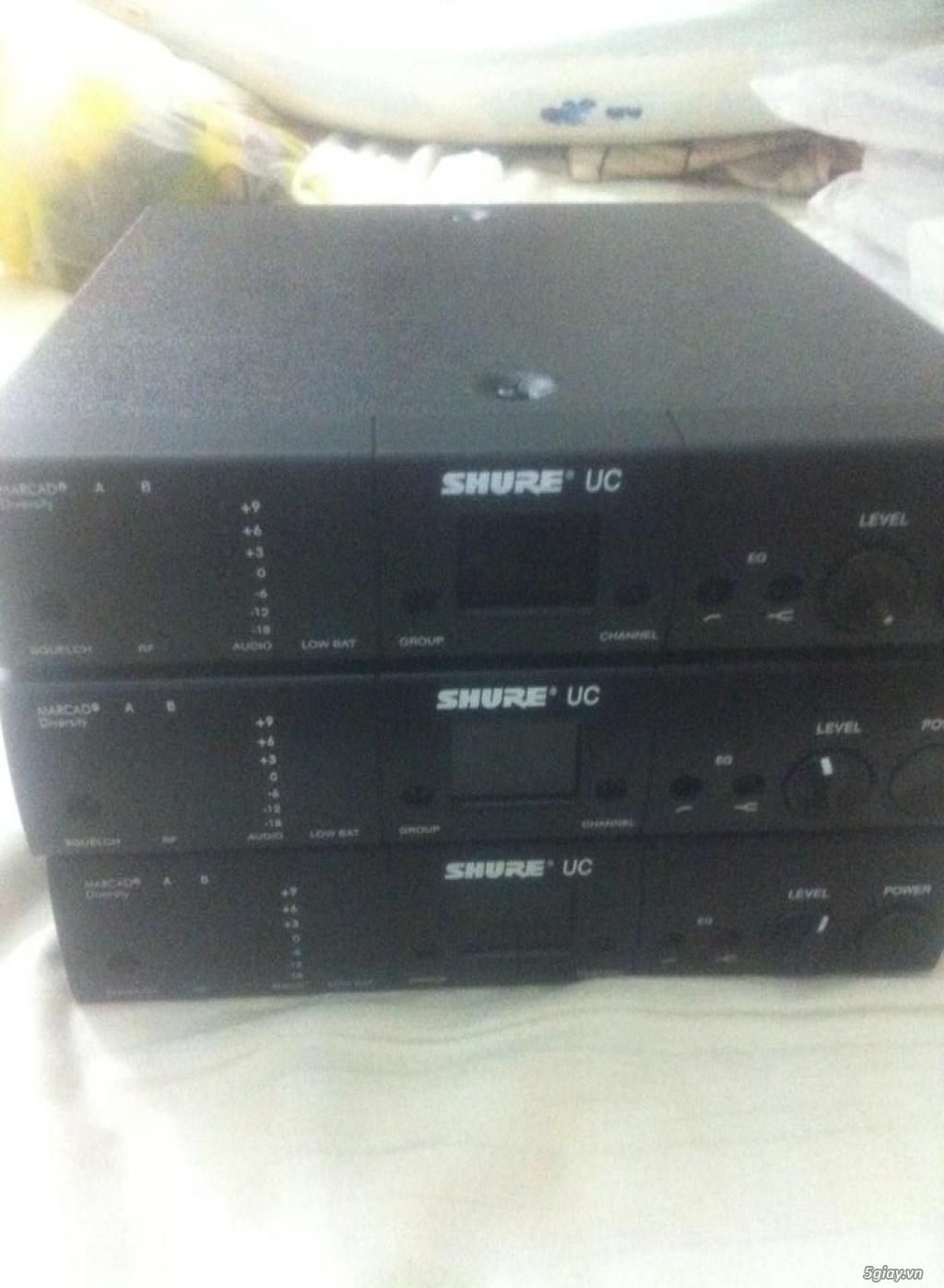 Bán Micro Shure không dây của Mỹ chính hãng ( Shure U4S UA, U4D UA, UC4 UA ) - 9