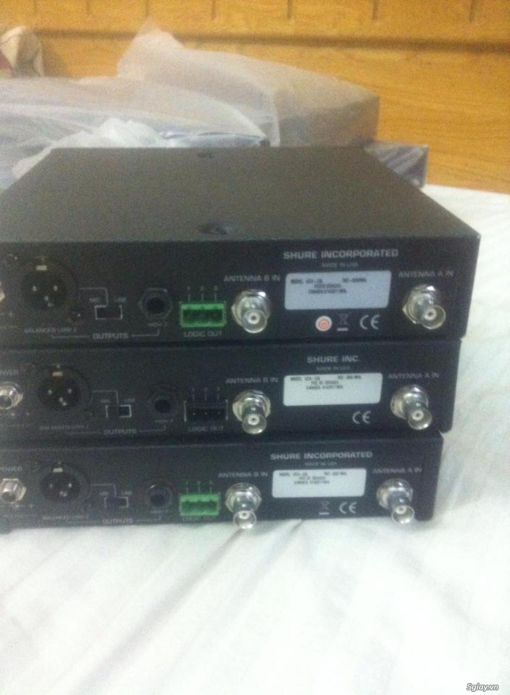 Bán Micro Shure không dây của Mỹ chính hãng ( Shure U4S UA, U4D UA, UC4 UA ) - 23
