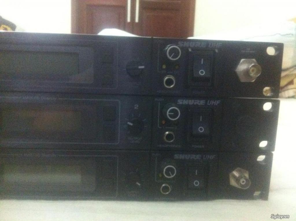 Bán Micro Shure không dây của Mỹ chính hãng ( Shure U4S UA, U4D UA, UC4 UA ) - 2