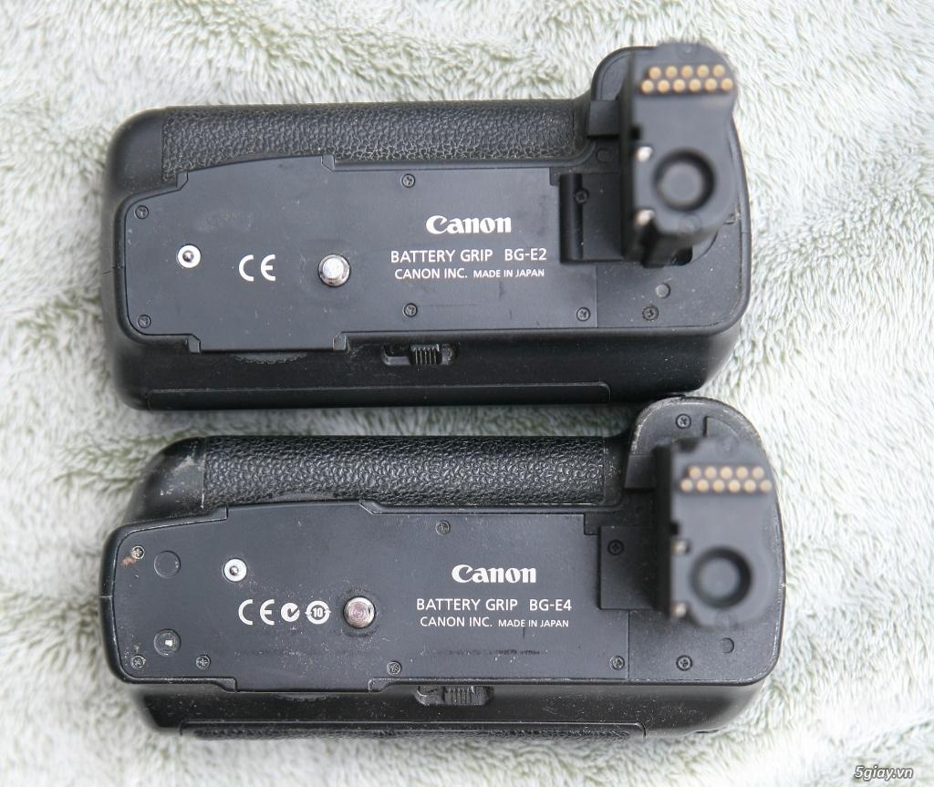 Bán or giao lưu A7ii : 5D Mark II , Grip zin BG-E6 /BG-E4 /BG-E2 , MF 50 f1.7 , Triger Pisen - 3