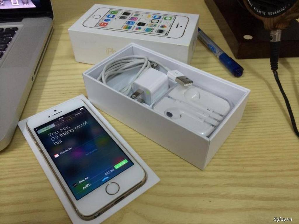 Iphone 5s 16g Gold QT 99%
