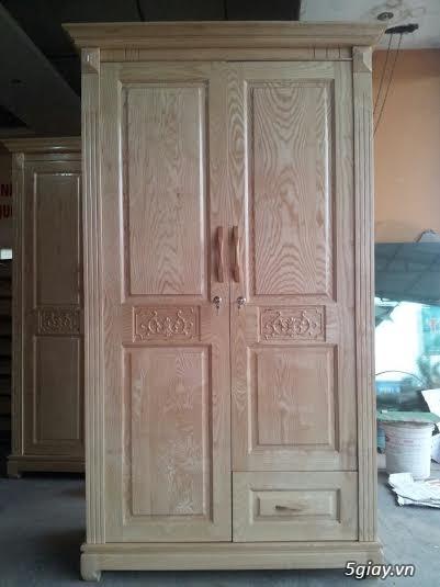 Bàn ghế giường tủ gỗ sồi Mỹ và Nga giá tốt nhất Sài Gòn - 5