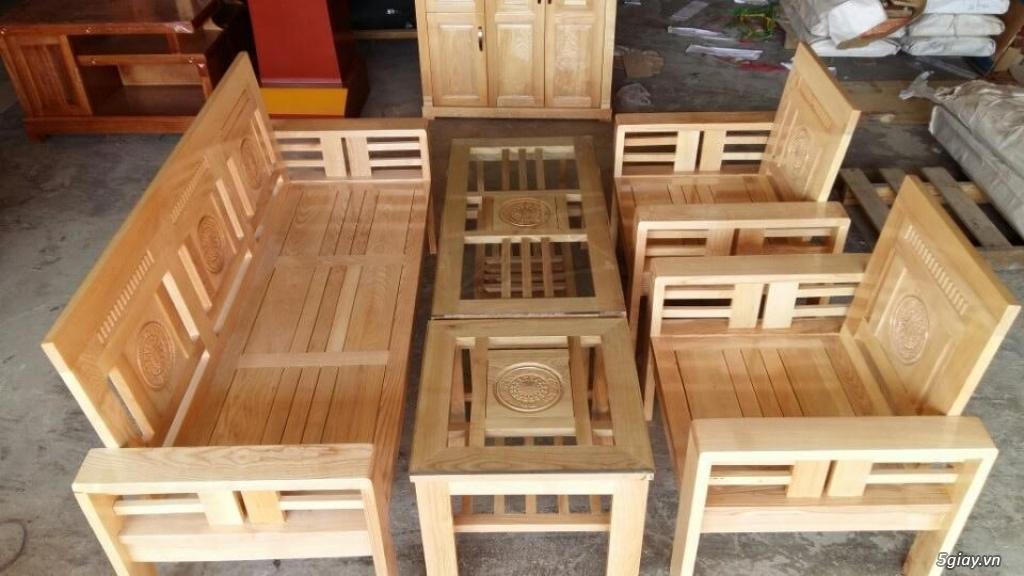 Bàn ghế giường tủ gỗ sồi Mỹ và Nga giá tốt nhất Sài Gòn - 29
