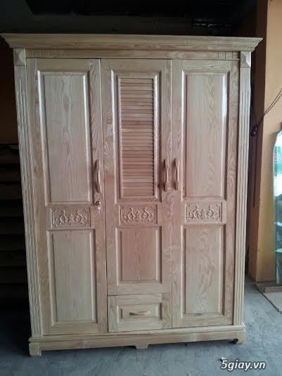 Bàn ghế giường tủ gỗ sồi Mỹ và Nga giá tốt nhất Sài Gòn - 6