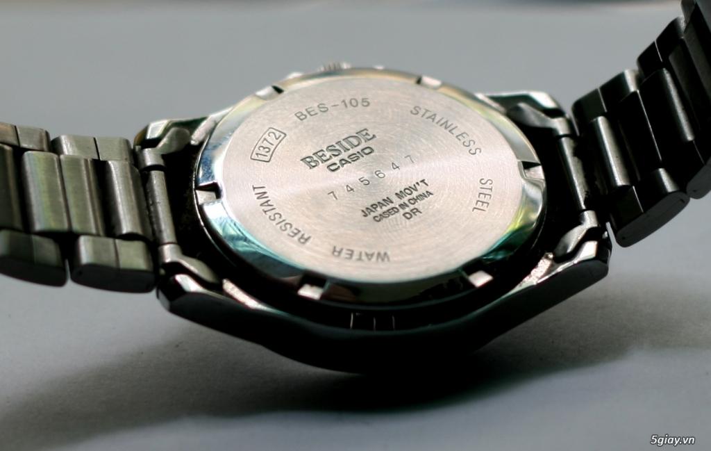 CASIO - BES-105 Hàng chính hãng Nhật về ! Bao Test ! BH 1 năm ! - 1