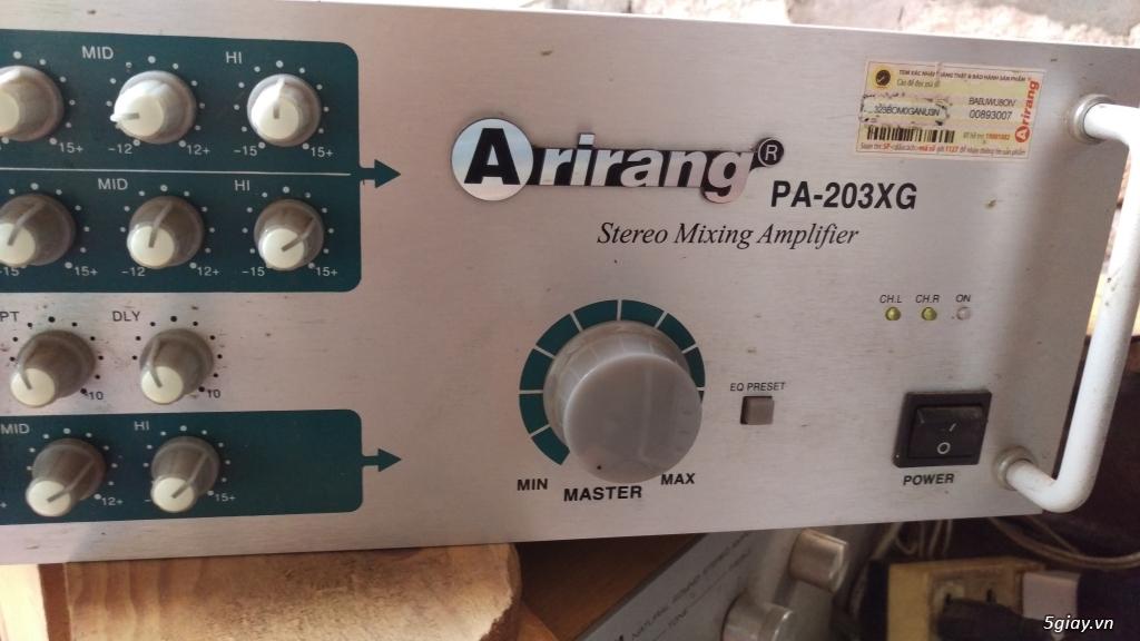 Dư dùng bán Amply Arirang PA-203XG