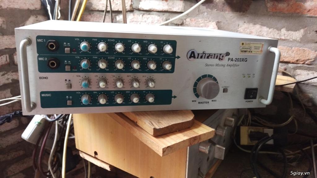 Dư dùng bán Amply Arirang PA-203XG - 1