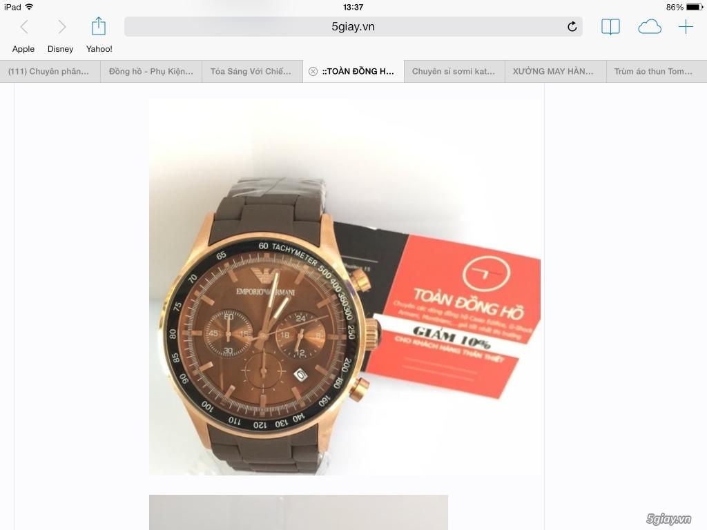 ::TOÀN ĐỒNG HỒ:: Đồng hồ Casio Edifice,Sheen,Montblanc,Armani,...Replica giá tốt