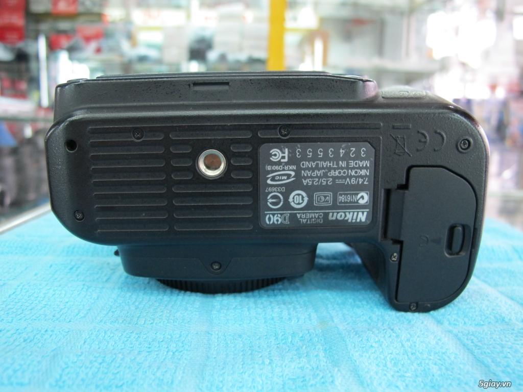 Nikon D90 hàng xách tay từ mỹ, ngoại hình mới 95%. 8,6k shot - 2