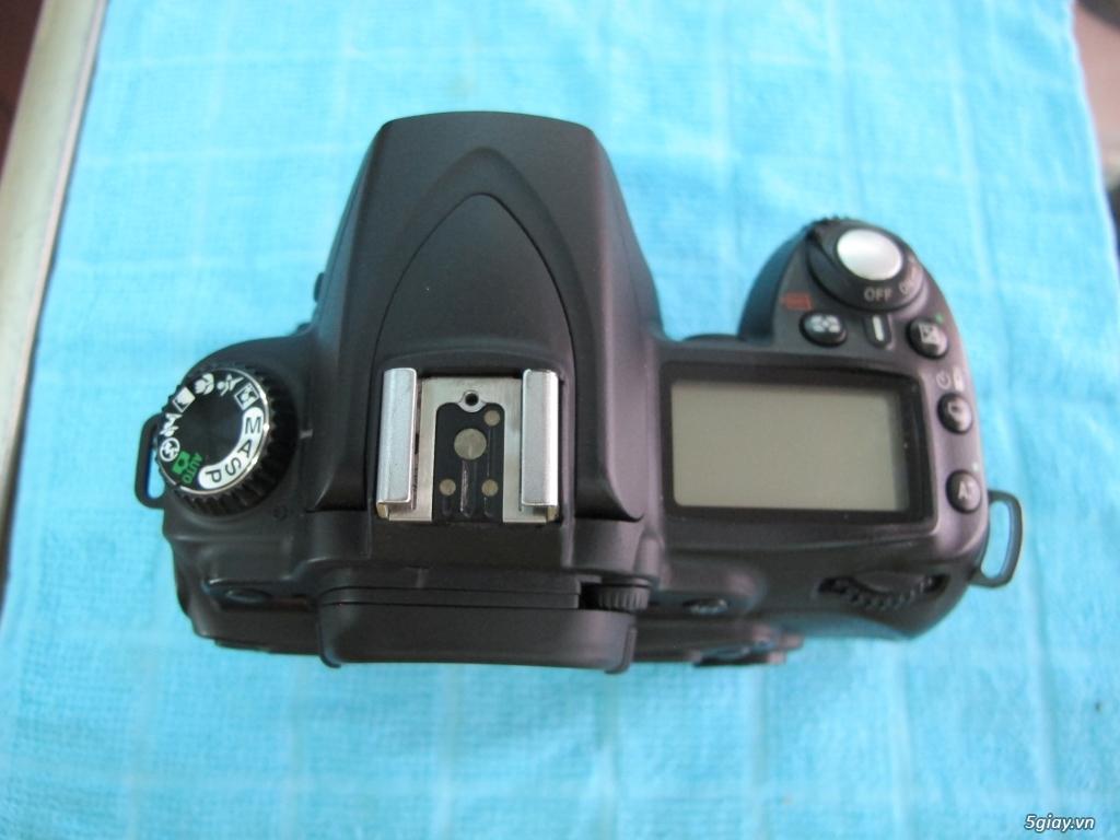 Nikon D90 hàng xách tay từ mỹ, ngoại hình mới 95%. 8,6k shot - 1