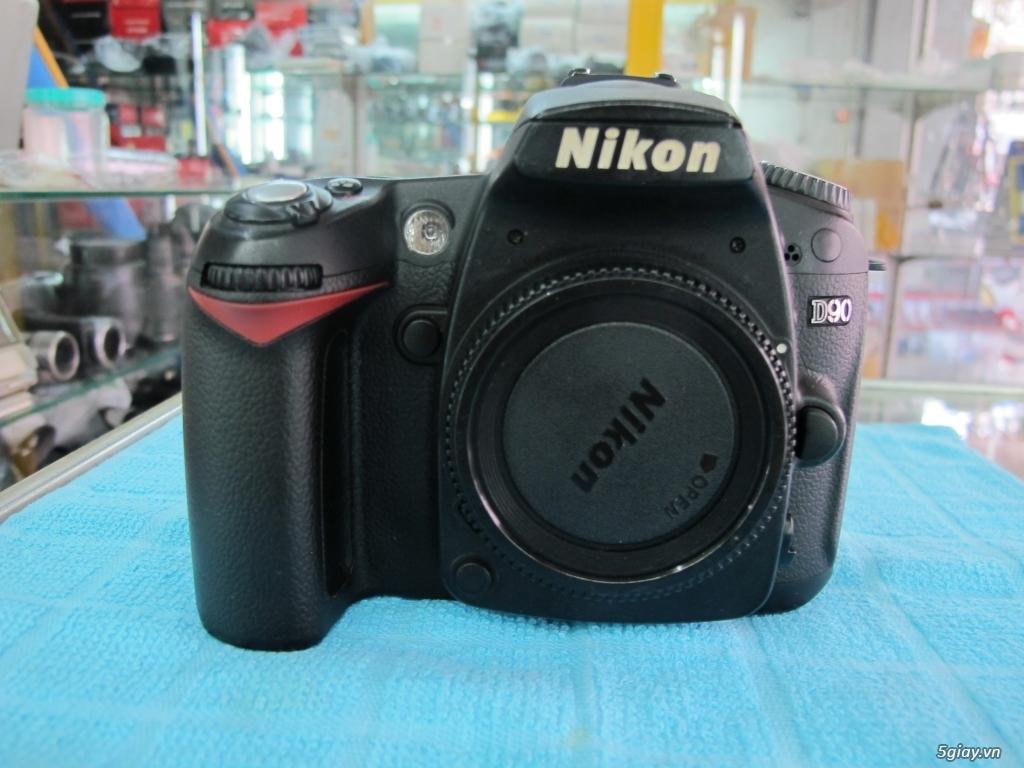 Nikon D90 hàng xách tay từ mỹ, ngoại hình mới 95%. 8,6k shot - 4