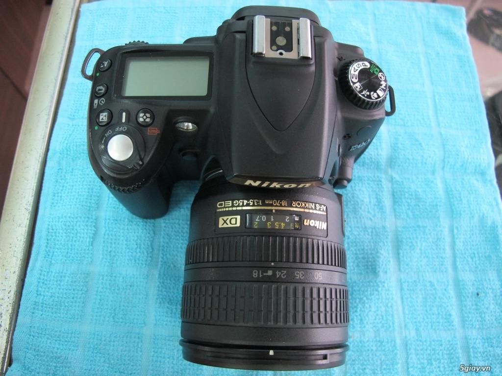 Nikon D90 hàng xách tay từ mỹ, ngoại hình mới 95%. 8,6k shot - 7