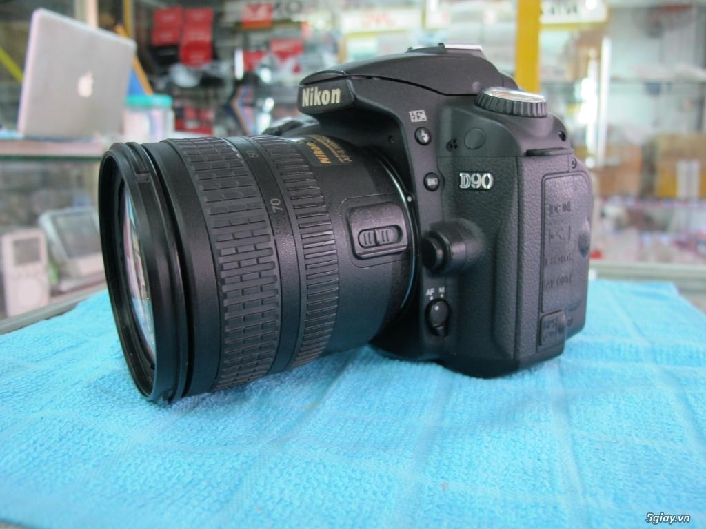 Nikon D90 hàng xách tay từ mỹ, ngoại hình mới 95%. 8,6k shot - 8