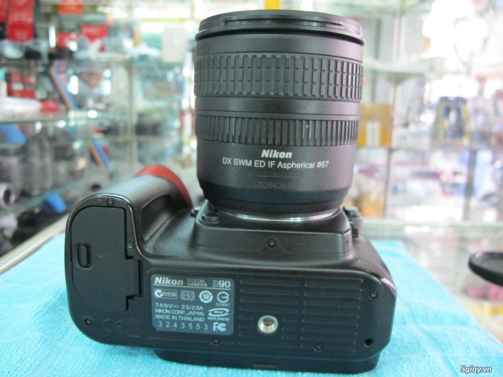 Nikon D90 hàng xách tay từ mỹ, ngoại hình mới 95%. 8,6k shot - 5