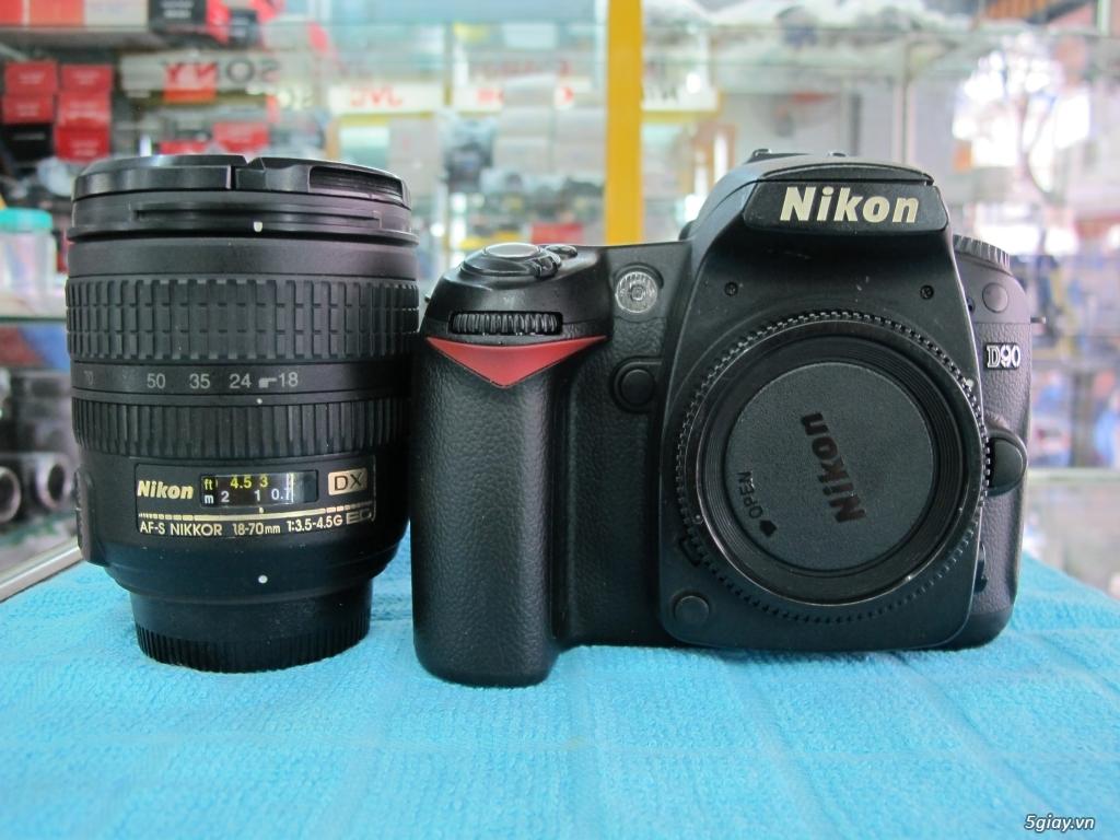 Nikon D90 hàng xách tay từ mỹ, ngoại hình mới 95%. 8,6k shot - 11