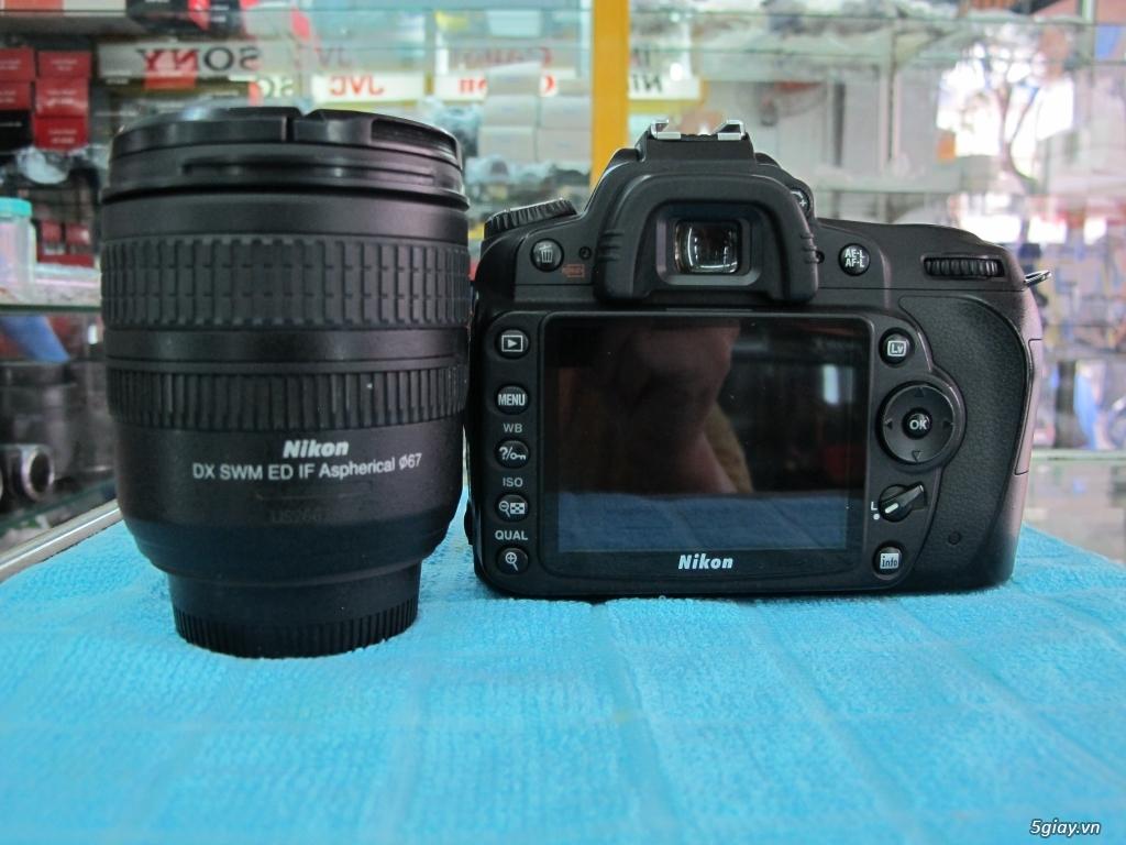 Nikon D90 hàng xách tay từ mỹ, ngoại hình mới 95%. 8,6k shot - 13
