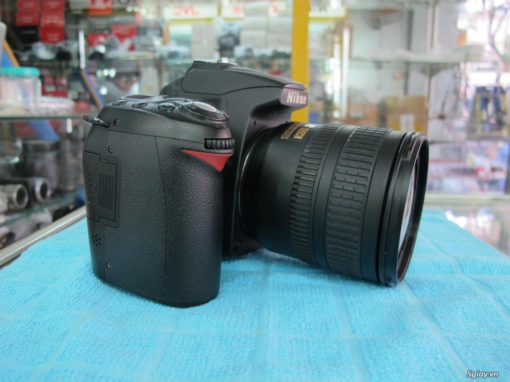 Nikon D90 hàng xách tay từ mỹ, ngoại hình mới 95%. 8,6k shot - 9