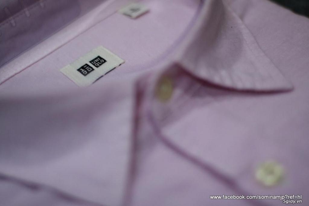 sơ mi 2nd của Japan chính hãng Pierre Cardin, Uniqlo... - 11