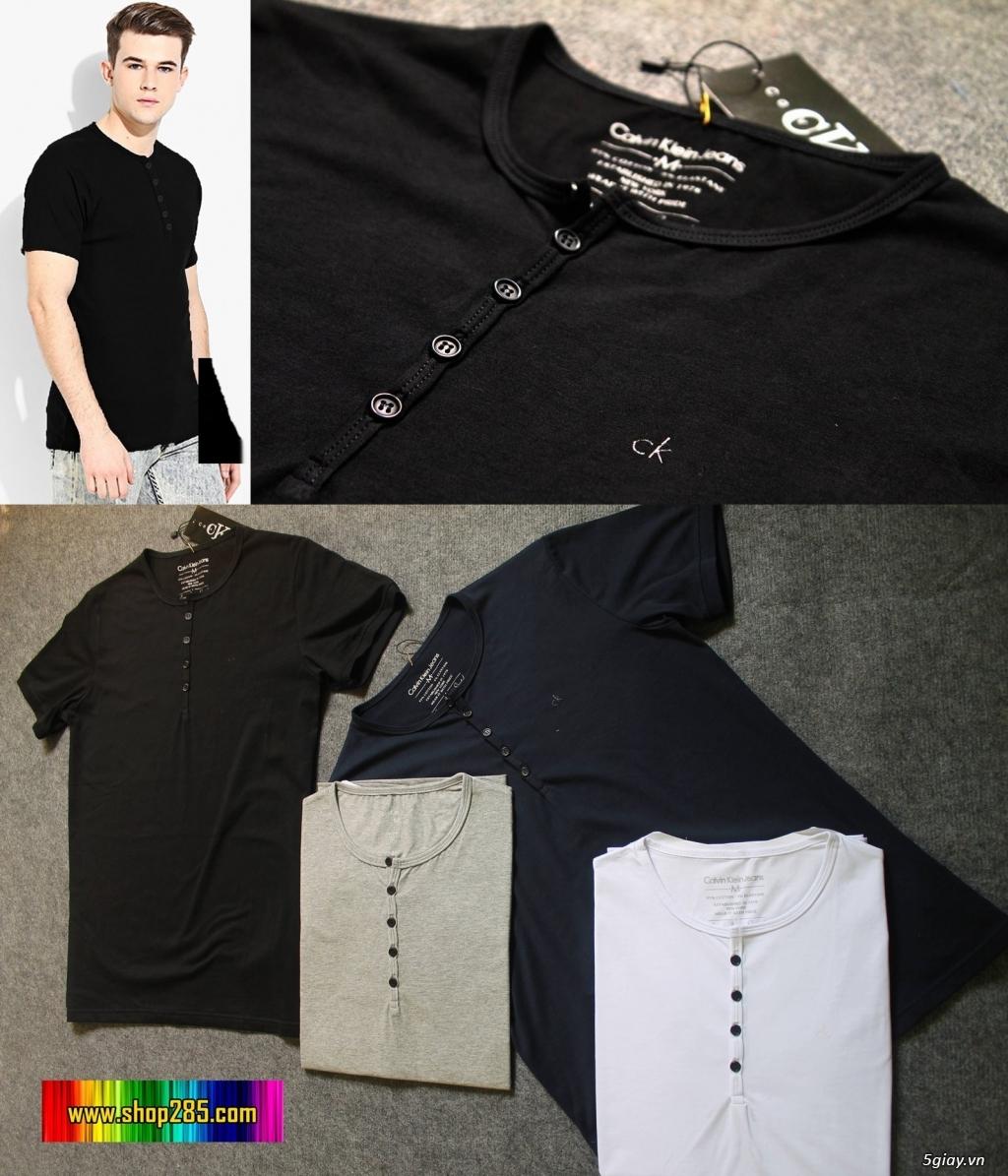 Áo thun Hollister VNXK,áo thun SuperDry VNXK ,áo A&F VNXK ,áo thun cổ tim thun láng - 37