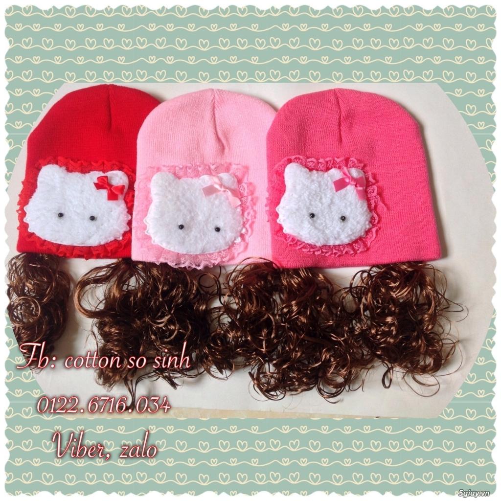 Áo quần cotton trẻ sơ sinh 12k, nón khăn bao tay chân, vớ giá rẻ new 100% hàng mới update - 31