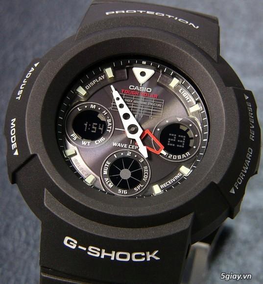 CASIO G-SHOCK AWG-500J TOUCH SOLAR xách tay JAPAN về ! Đẹp 99% - 2