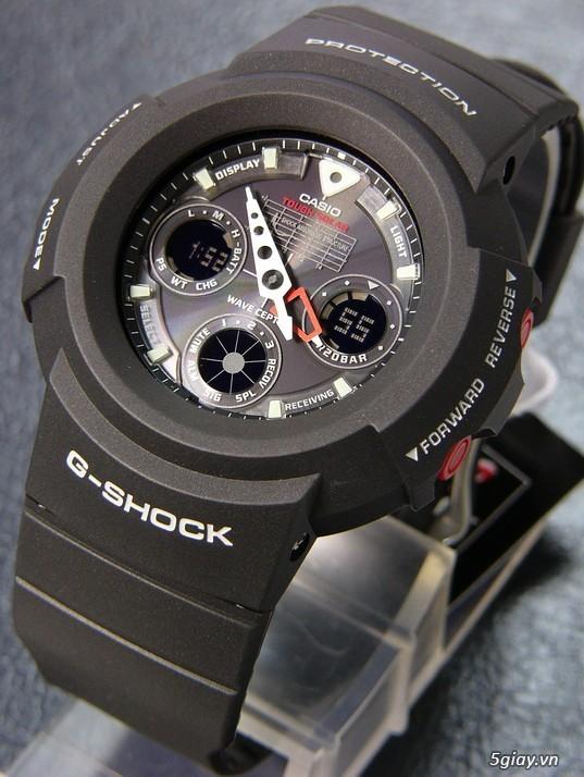 CASIO G-SHOCK AWG-500J TOUCH SOLAR xách tay JAPAN về ! Đẹp 99% - 1